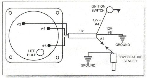 Auto Vdo Gauge Wiring Diagram Wiring Diagram