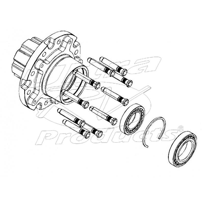 wheel hub assembly diagram