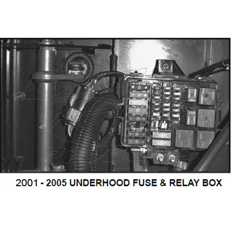 workhorse fuse box panel cover