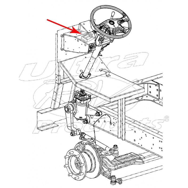 W0007967 - Workhorse W-series Wiper Control Module - Workhorse Parts
