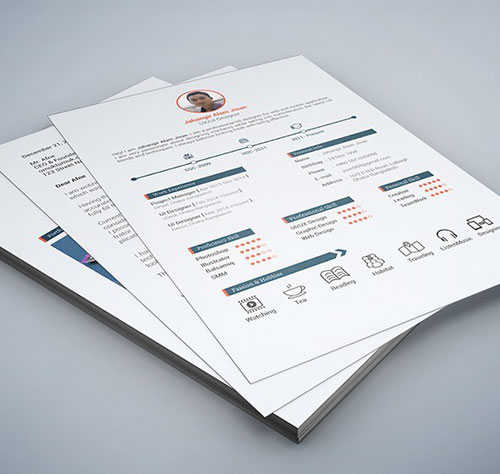 modern resume template for word and pages cover letter 1 2 3 page - free resume templates for pages