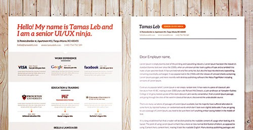 84+ Best Free Creative Resume Templates