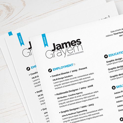 115+ Best Free Creative Resume Templates - Download - fancy resume templates