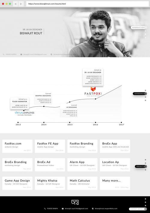115+ Best Free Creative Resume Templates - Download - web resume
