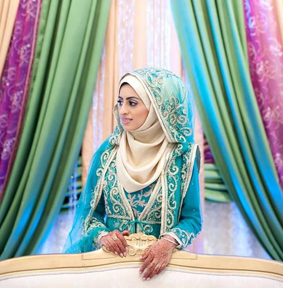Muslim Wedding Dresses Houston : Muslim wedding dresses with sleeves and hijab high end slinky