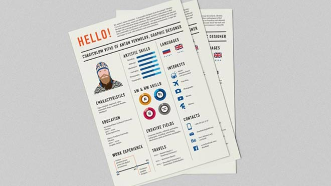 25 Creative and Simple Resume Examples - simple resume design