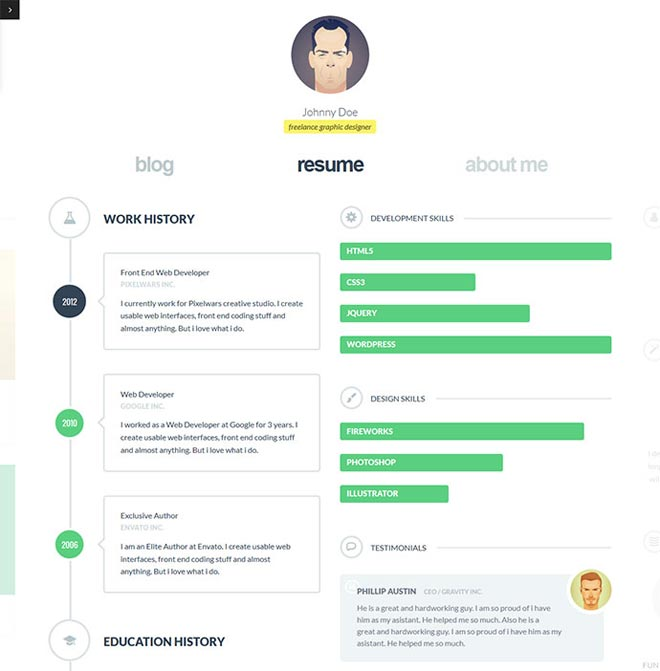 Online Resumes Examples Resume Examples And Free Resume