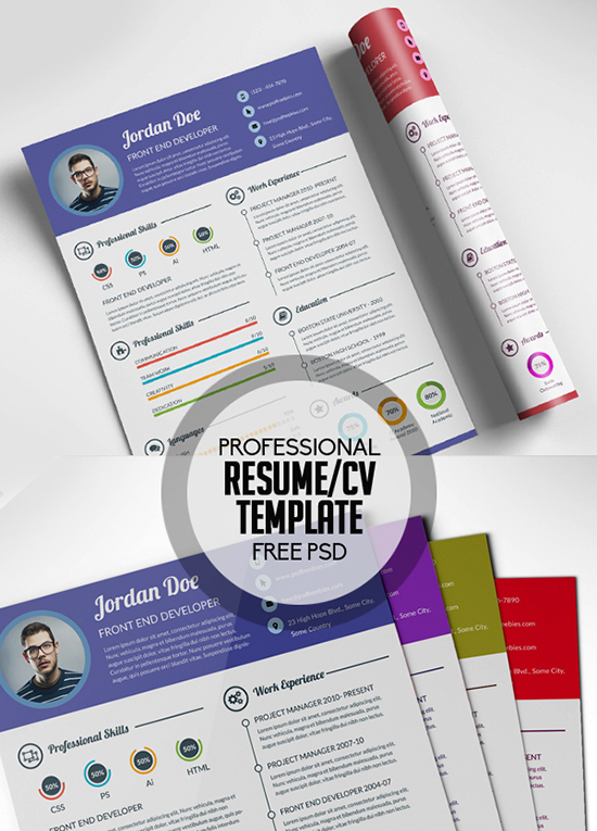 28+ Infographic Resume Templates Download Free  Premium - resume cv templates free