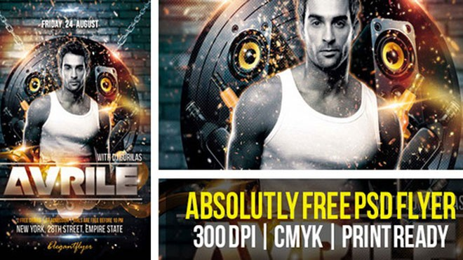 20+ Free Psd Flyer Templates  Design ideas
