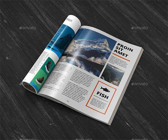 40+ Best Free Magazine Mockup \u2013 PSD Templates