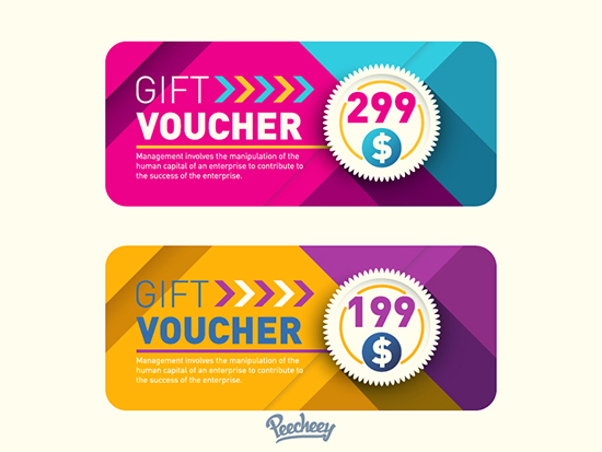 22+ Best Free Gift Voucher Templates In PSD - gift voucher template