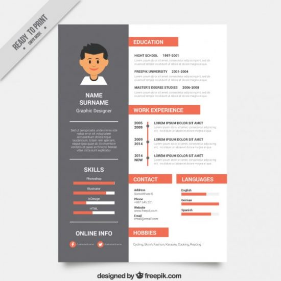 28+ Best Resume For Graphic Designers (PSD  Ideas With Examples) - resumes for graphic designers