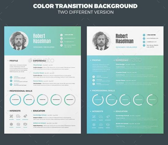 28+ Best Resume For Graphic Designers (PSD  Ideas With Examples) - Resume For Graphic Designer