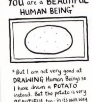 You Are A Beautiful Human Being *