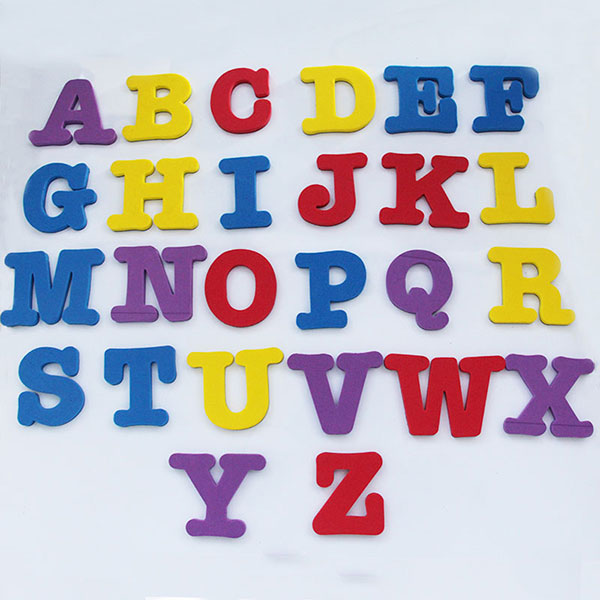 EVA Magnetic Letters Alphabet Fridge Magnet Educational Learn Foam