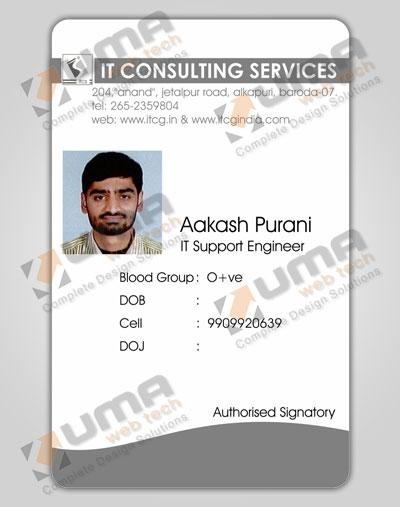 Student Identity Cards Design Jamnagar, Gujarat, India