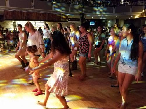 In addition to all the medical fun, we also had the chance to go line dancing!