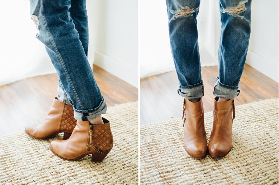 How To Wear Ankle Booties With Jeans Part I Three Ways