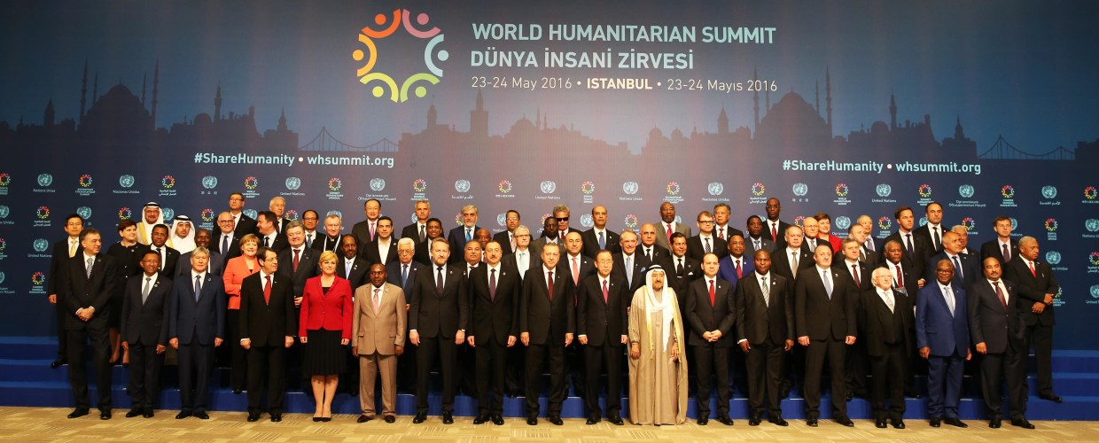 Leaders' Family Photo at World Humanitarian Summit