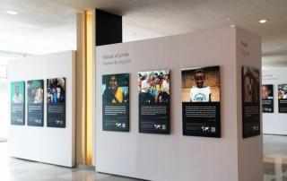 """""""Water for Life Voices"""" Exhibit opens at the UN."""