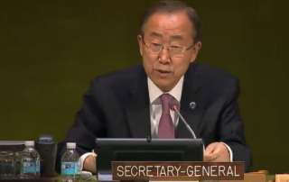 Secretary-General Ban Ki-moon