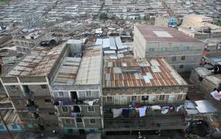 An overview of Mathare slum, Nairobi, Kenya. Photo: UN-Habitat/Julius Mwelu