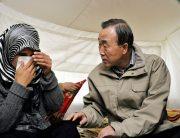 Photo: Secretary-General Visits Syrian Refugees in Turkey. Credit: UN Photo/Mark Garten.