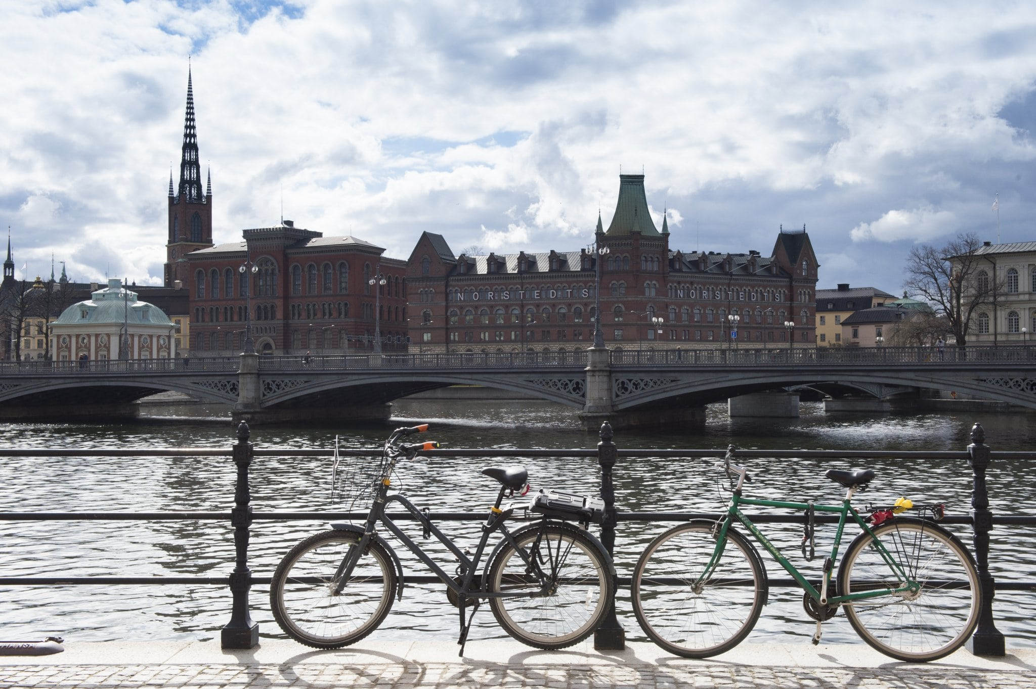 Photo: A view from Stockholm City Hall. UN Photo/Eskinder Debebe