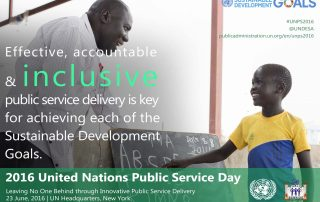 Digital card: UN Public Service Day