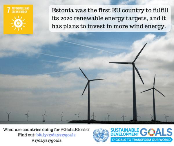 en green living wind energy an ocean of wind turbines