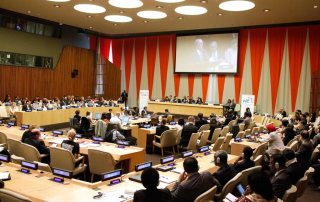 Photo: A wide view of the ECOSOC Chamber. UN Photo/Paulo Filgueiras