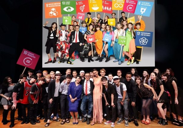 Photo: Japanese artists collaborate for sustainable development with the help of UNIC Tokyo.