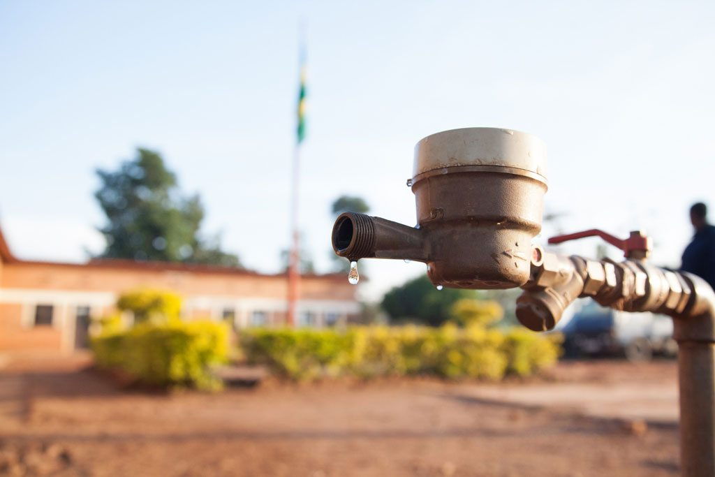 Photo: A water tap in Rwanda.