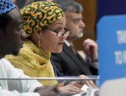 Deputy Secretary-General Amina Mohammed. UN Photo/Evan Schneider