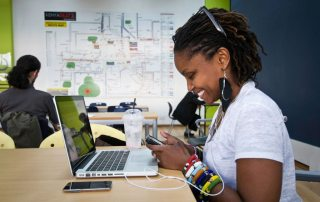 iHub, an innovation and business space for the technology community in Kenya. Photo: iHub/UNDP
