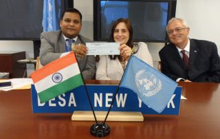 Mr. Ashish Sinha, First Secretary & Second Committee Representative, Permanent Mission of India to UN 