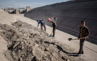 Local farmers in Erbil and rural areas of Iraq will be able to restart farming activities with rehabilitated irrigation and other infrastructure. Photo: FAO/Cengiz Yar