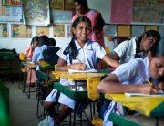 Youth in the classroom. Photo: Deshan Tennekoon/World Bank.