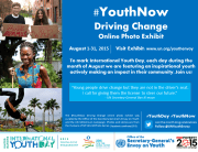 #Youth Now Driving Change promo graphic FINAL