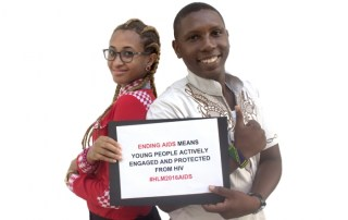 Jacqueline Maeda and Rahim Nasser, Youth activists, United Republic of Tanzania