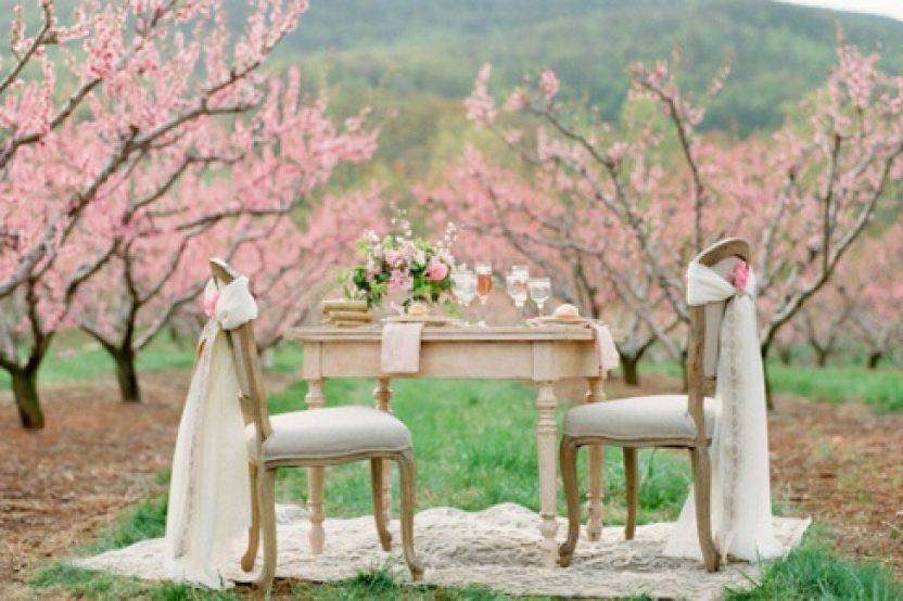 DECORACIÓN CON FLOR DE CEREZO - Blog de bodas de Una Boda Original
