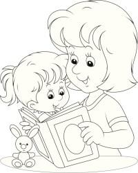 Disegni da colorare per la Festa della Mamma | UnaDonna