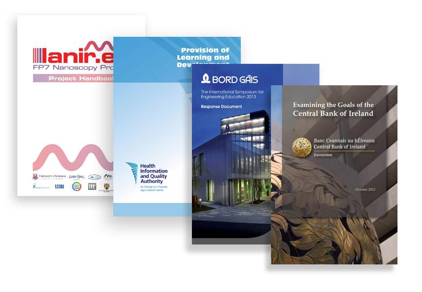 Brochure  Report Design - reports designs