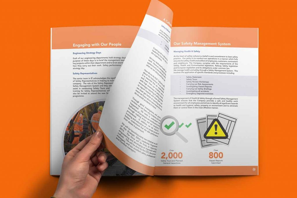 Brochure  Report Design