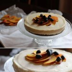 No bake peach cheesecakethe recipe si now on my blog!hellip