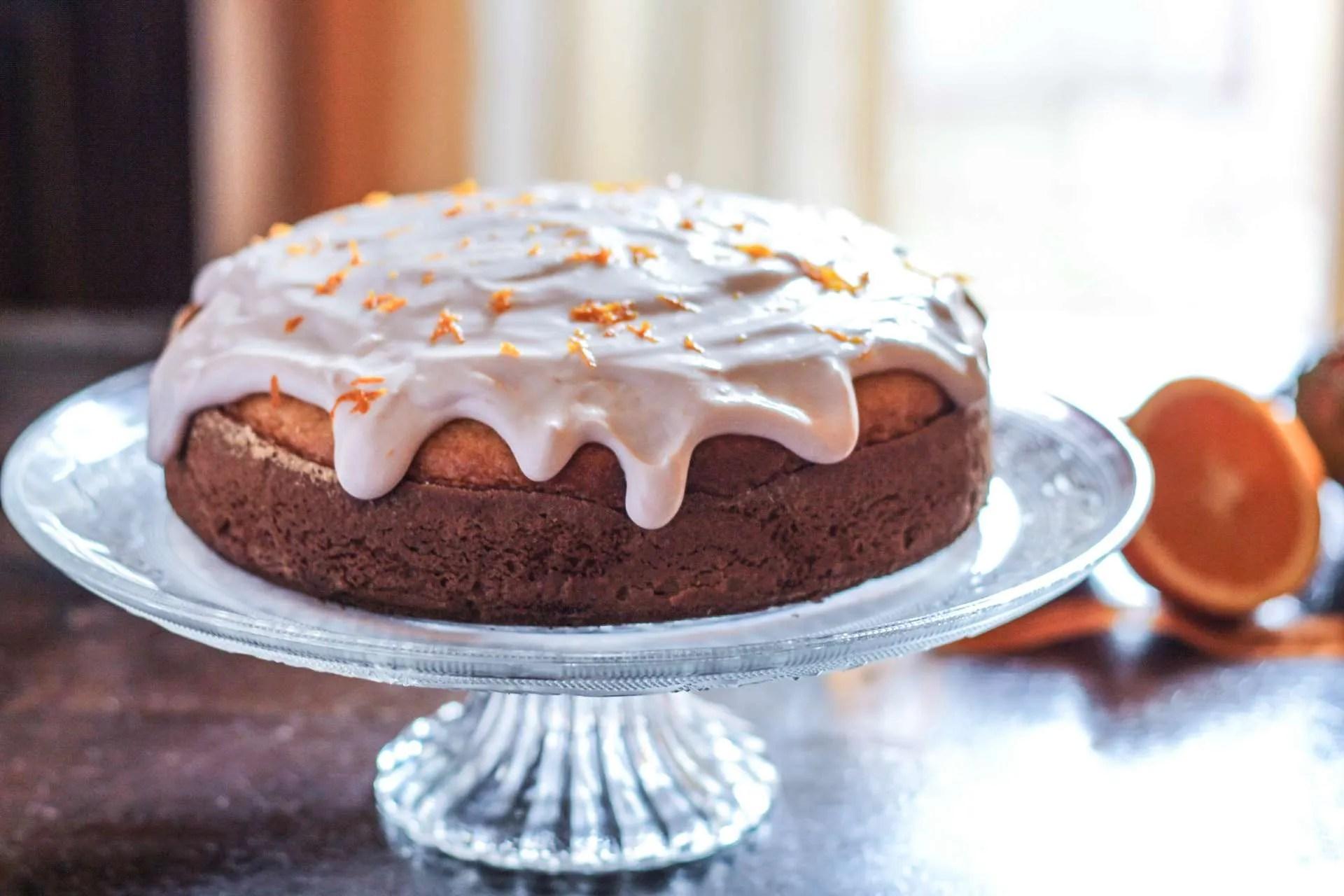 Orange Glazed Coffee Cake Unamericanatragliorsi