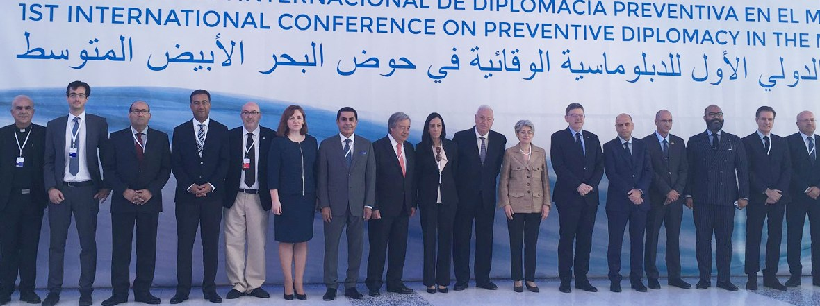 Al-Nasser Remarks at the First International Conference on Preventive Diplomacy in the Mediterranean