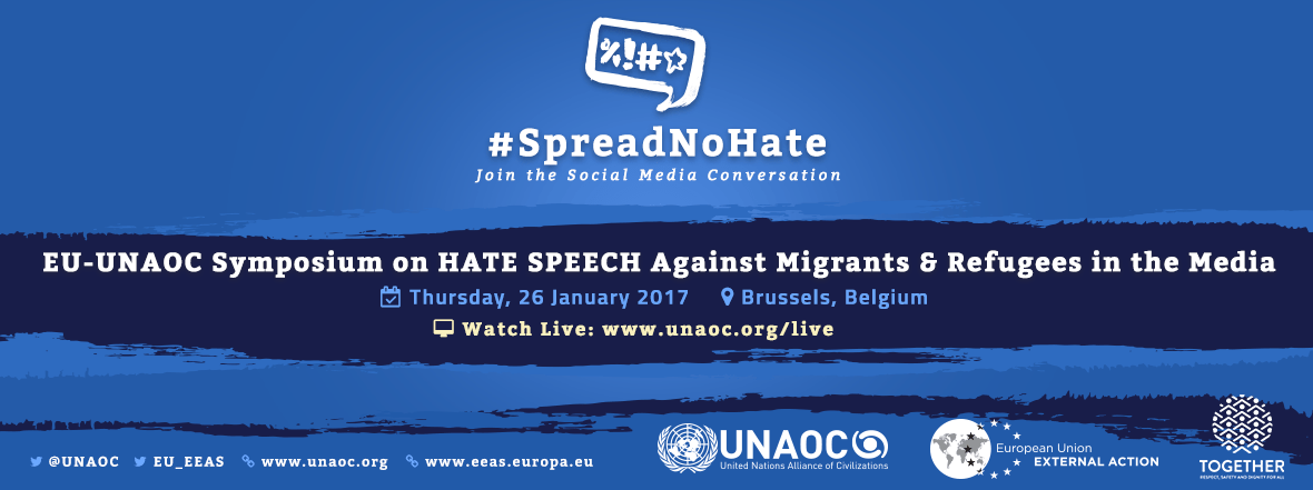 #SpreadNoHate Source: unaoc.org