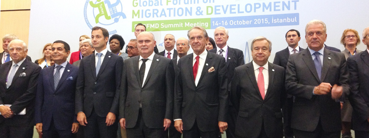 Al-Nasser Remarks at the Global Forum on Migration and Development (GFMD)