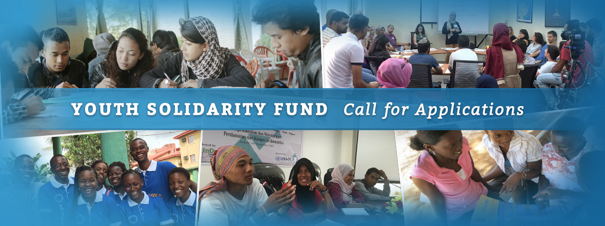United Nations Alliance of Civilizations Launches Call for Applications for Youth Solidarity Fund